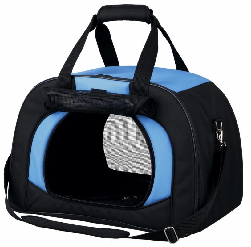 Trixie Torba transportowa Kilian czarno-niebieska 48 x 32 x 31 cm