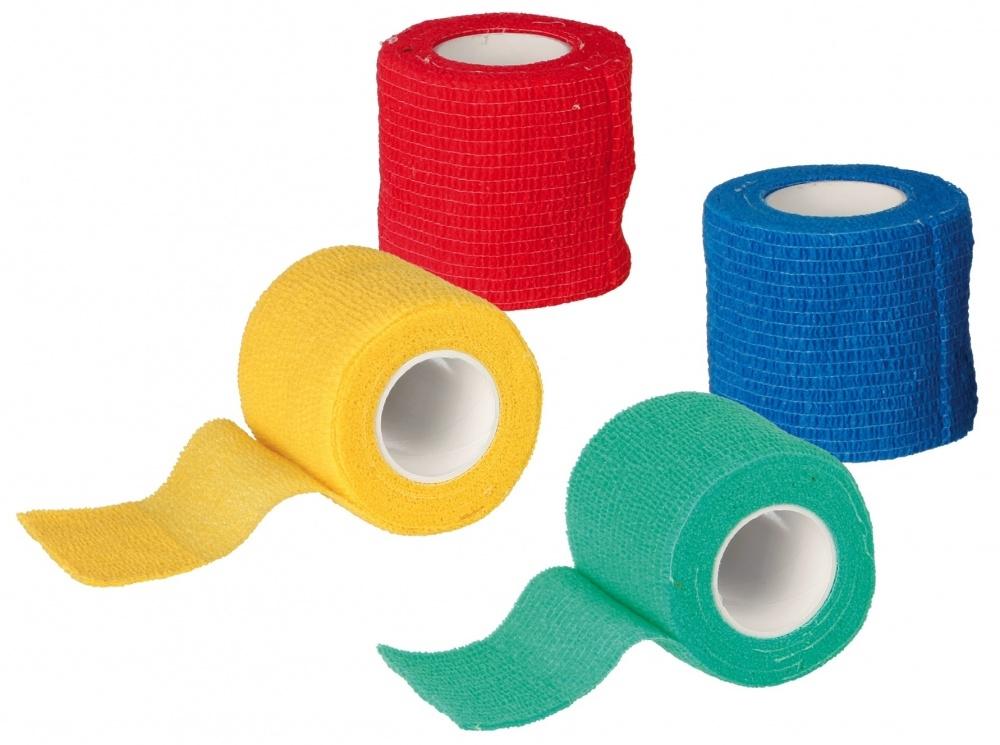 Trixie Bandaże samoprzylepne dla psów i kotów 4,5 m / 5 cm 4 szt.