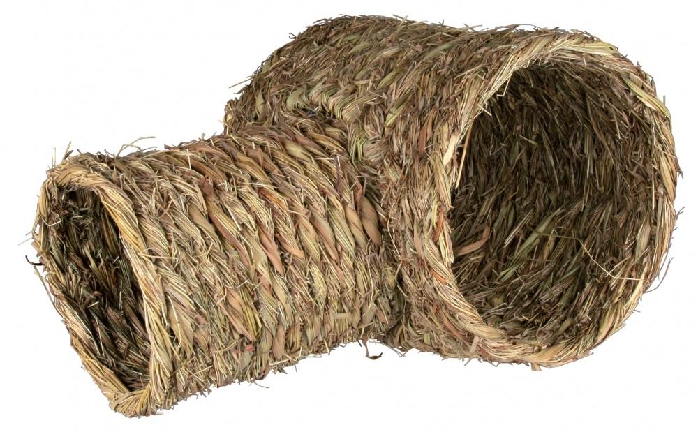 Zdjęcie Trixie Tunel z trawy dla gryzoni potrójny 28 x 23 cm