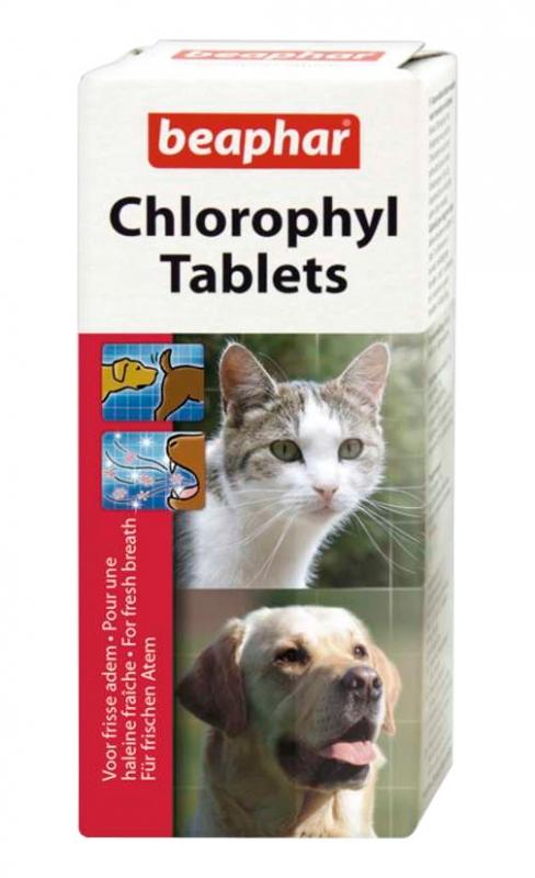 Beaphar Tabletki chlorofilowe dla psów i kotów do stosowania podczas cieczki / rui 30 tabl.