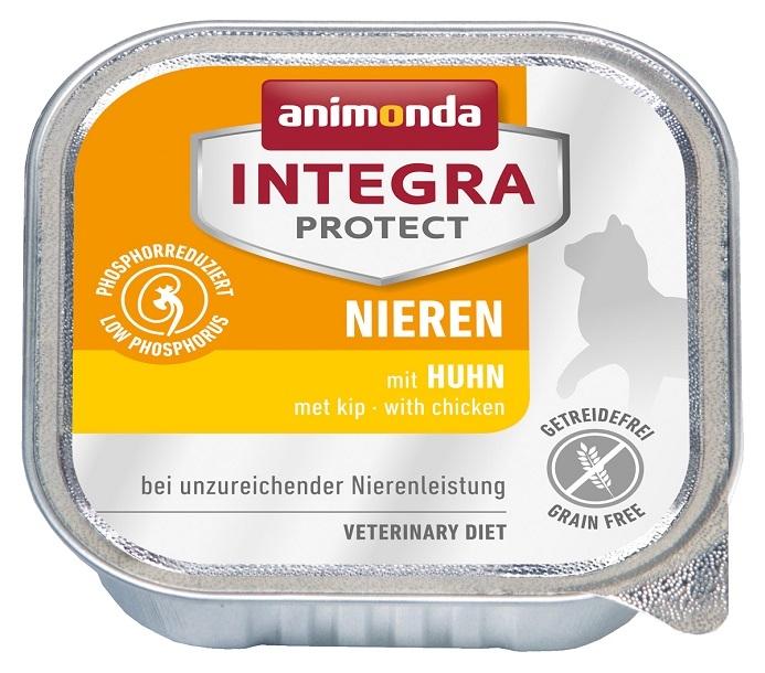 Zdjęcie Animonda Integra Protect Nieren tacka dla kota  z kurczakiem 100g