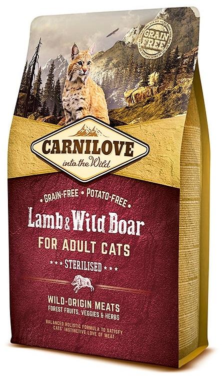 Carnilove Adult Cat Lamb & Wild Boar Sterilised  6kg