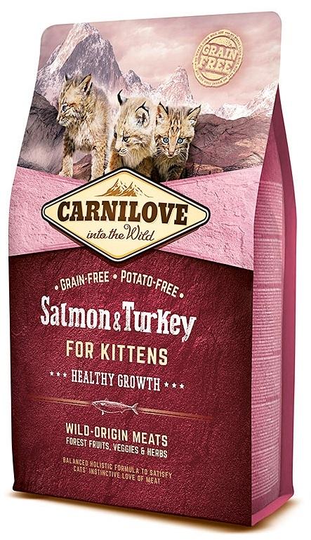 Carnilove Cat Salmon & Turkey Kitten  2kg