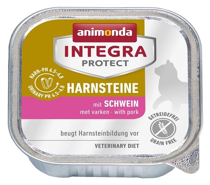 Animonda Integra Protect Harnsteine tacka dla kota kamienie moczowe z wieprzowiną 100g
