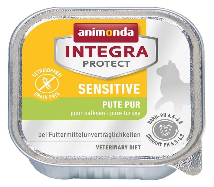 Zdjęcie Animonda Integra Sensitive tacka dla kota  indyczka 100g