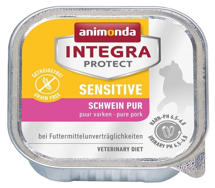 Zdjęcie Animonda Integra Sensitive tacka dla kota  wieprzowina 100g
