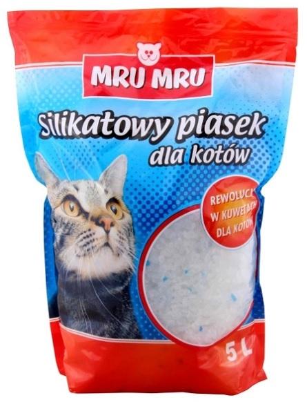 Zdjęcie Mru Mru Żwirek silikonowy  dla kotów 10l