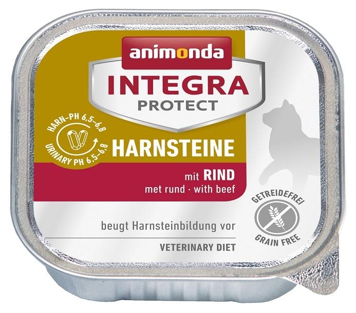 Animonda Integra Protect Harnsteine tacka dla kota kamienie moczowe z wołowiną 100g