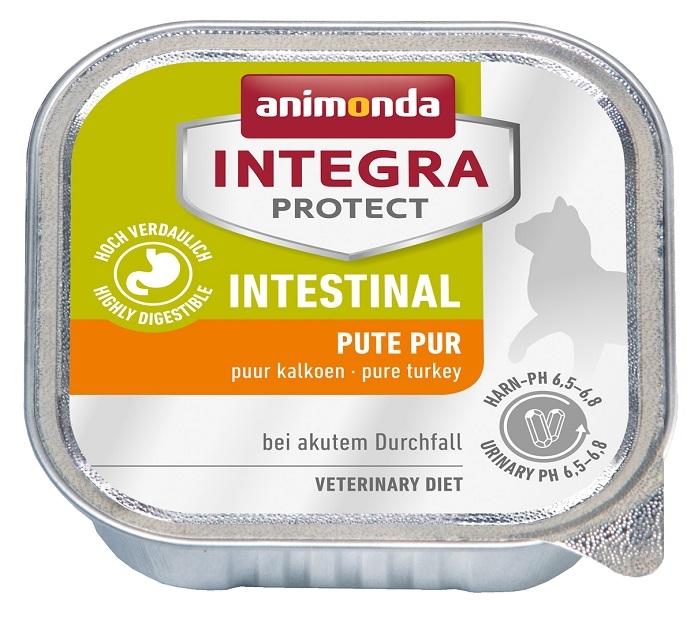 Zdjęcie Animonda Integra Protect Intestinal tacka dla kota  indyk 100g