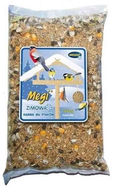 Zdjęcie Megan Karma zimowa dla ptaków Megi  worek 1kg
