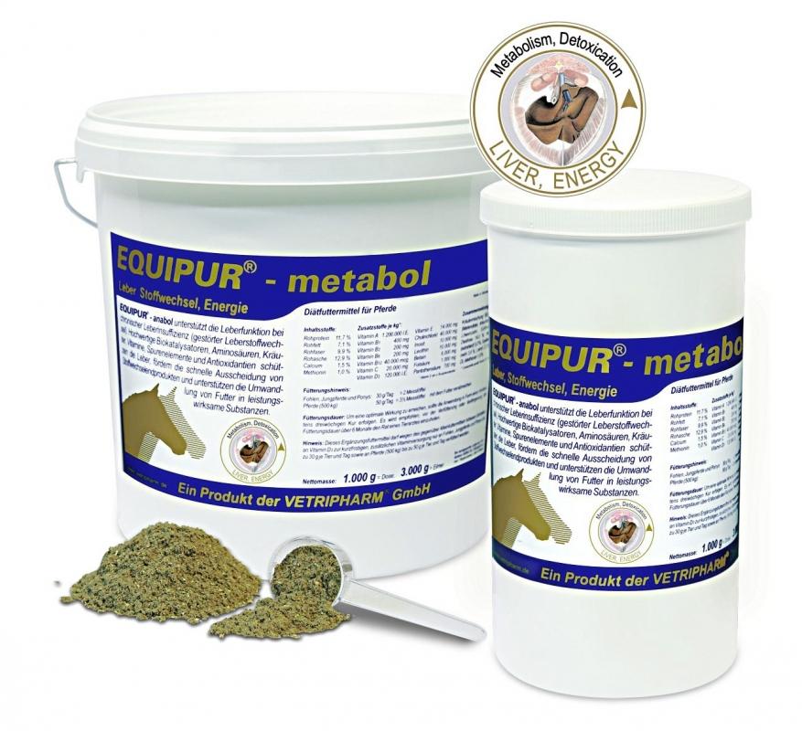 Zdjęcie EquiPur Metabol zdrowa wątroba   1kg
