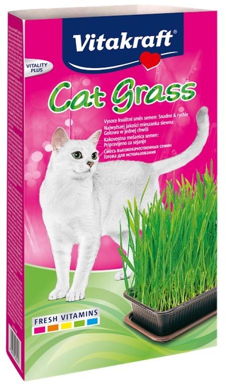 Vitakraft Cat Grass kocia trawka do wysiewu  120g