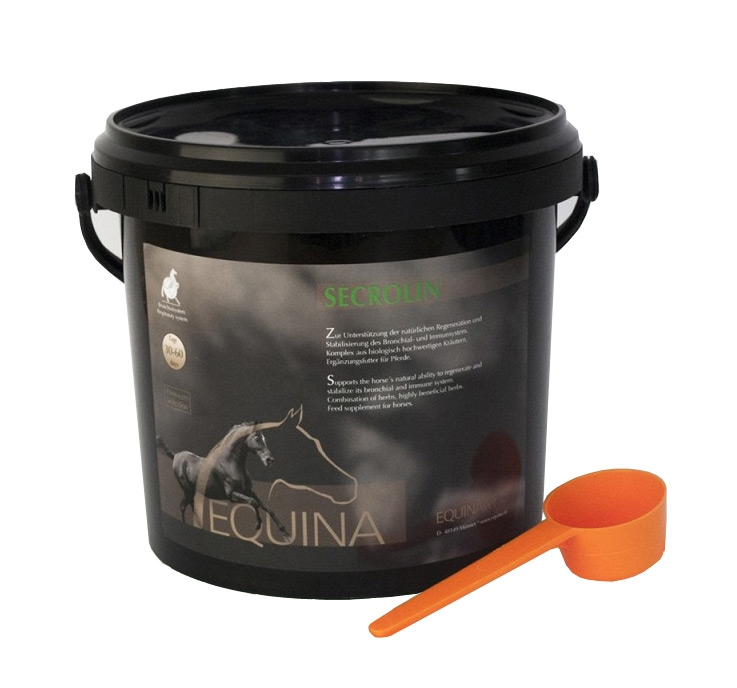 Zdjęcie Equina Secrolin układ oddechowy i odporność preparat ziołowy  800g
