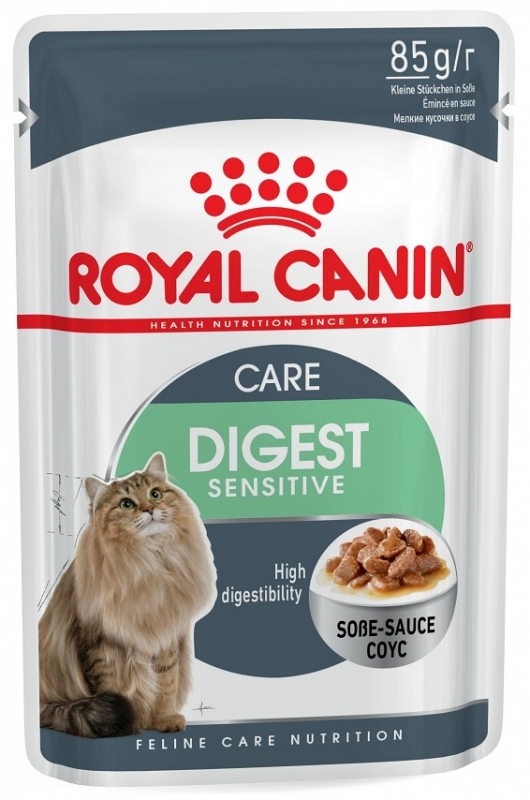Royal Canin Saszetka Digest Sensitive  w sosie 85g