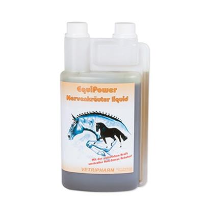 Zdjęcie Vetripharm Equi Power Nervenkräuter Liquid  zioła uspakajające dla koni w syropie 1l