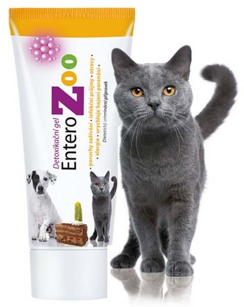 EnteroZoo Żel detoksykacyjny dla psów i kotów i małych zwierząt 100g