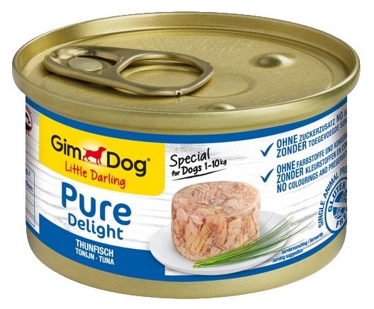 Zdjęcie Gimdog Little Darling Pure Delight puszka w galaretce tuńczyk 85g