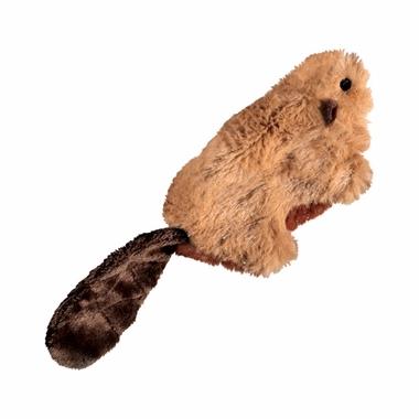 Kong Cat Toys Beaver zabawka dla kota z kocimiętką pluszowy bóbr