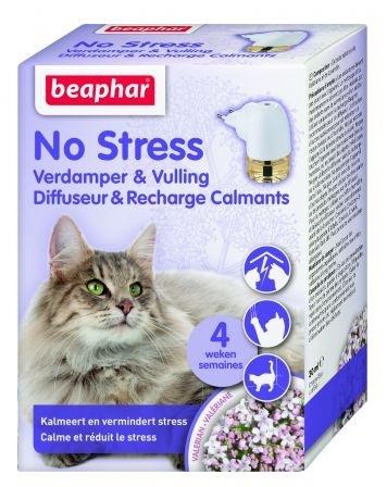 Beaphar No Stress Cat aromatyzer behawioralny na 4 tygodnie dyfuzor z wkładem 30ml