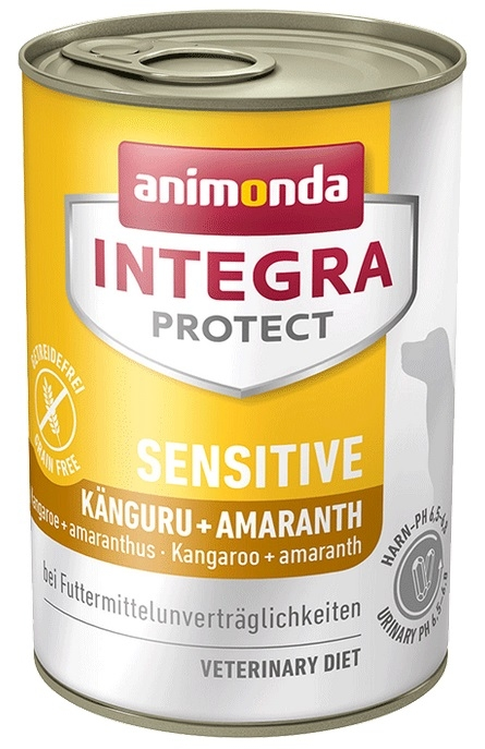 Animonda Integra Protect Sensitive puszka dla psa  kangur + amarantus 400g