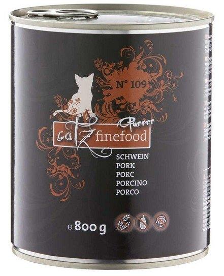 Catz Finefood N.109 Purrrr puszka wieprzowina 800g