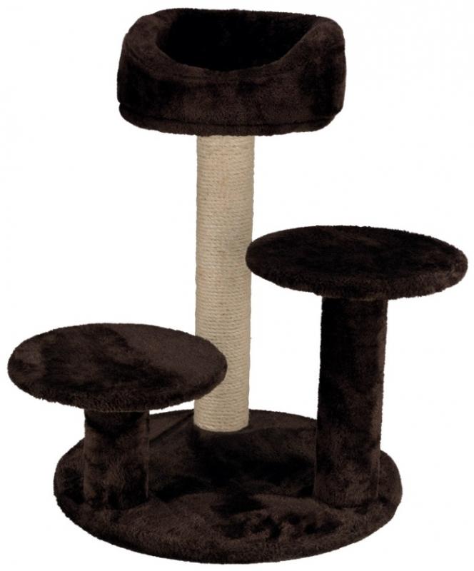 Trixie Drapak Orla z półkami i legowiskiem  brązowy wys. 68 cm
