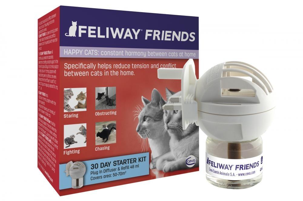 Feliway Friends Dyfuzor z wkładem na 30 dni  48ml