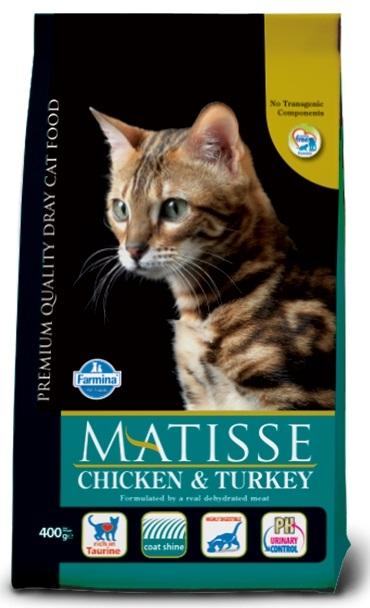 Farmina Matisse Cat Adult Chicken & Turkey z kurczakiem i indykiem 1.5kg