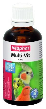 Zdjęcie Beaphar Vinka preparat witaminowy w kroplach  dla ptaków 50ml