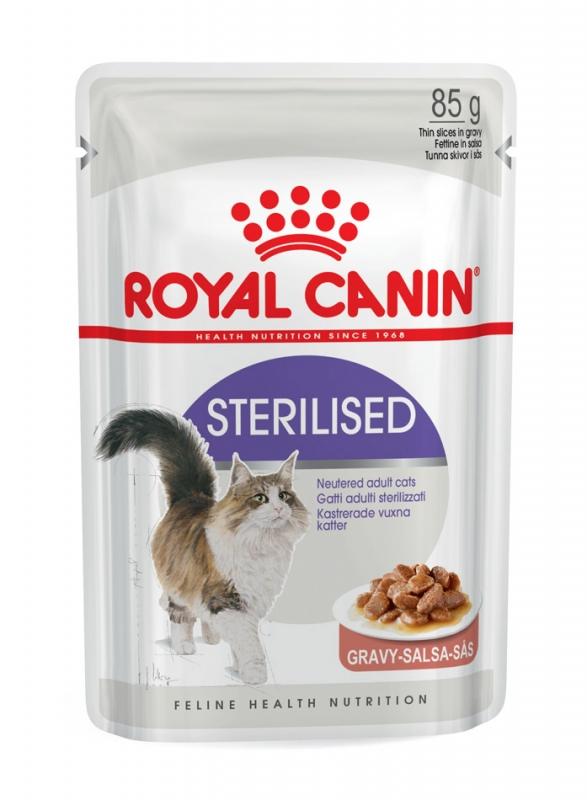 Zdjęcie Royal Canin Saszetka Sterilised  w sosie 85g