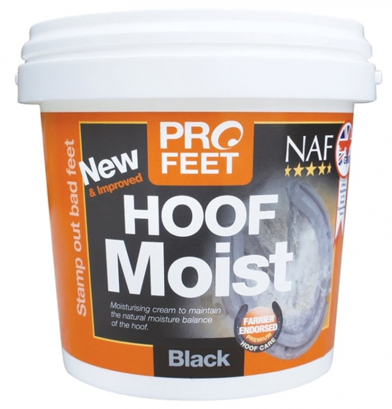 NAF Hoof Moist krem do kopyt  Black  900g