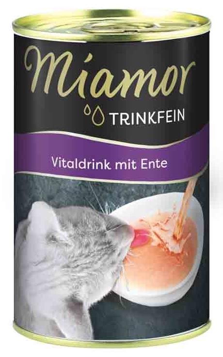 Miamor Vitaldrink napój dla kota z kaczką 135ml