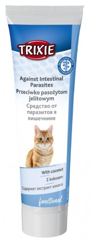 Trixie Pasta funkcyjna dla kotów przeciwko pasożytom jelitowym 100g