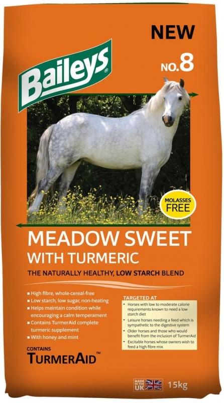 Baileys Meadow Sweet with Turmeric No. 8   15kg
