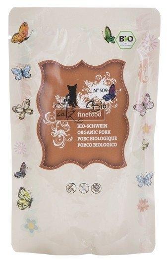 Catz Finefood Bio N.509 saszetka organiczna wieprzowina 85g