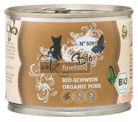 Catz Finefood Bio N.509 puszka  wieprzowina 200g