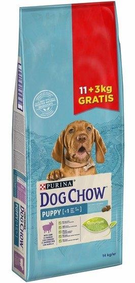 Zdjęcie Purina Dog Chow Puppy Lamb  z jagnięciną 11+3kg GRATIS