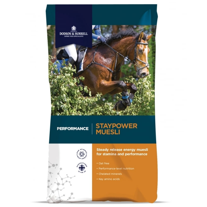 Dodson & Horrell Staypower Musli   20kg