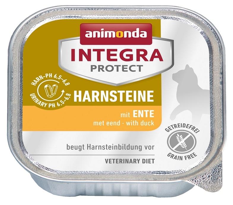 Animonda Integra Protect Harnsteine tacka dla kota kamienie moczowe z kaczką 100g
