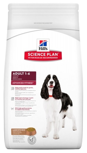 Hill's Canine Adult Medium Lamb & Rice Advanced Fitness jagnięcina z ryżem 12kg