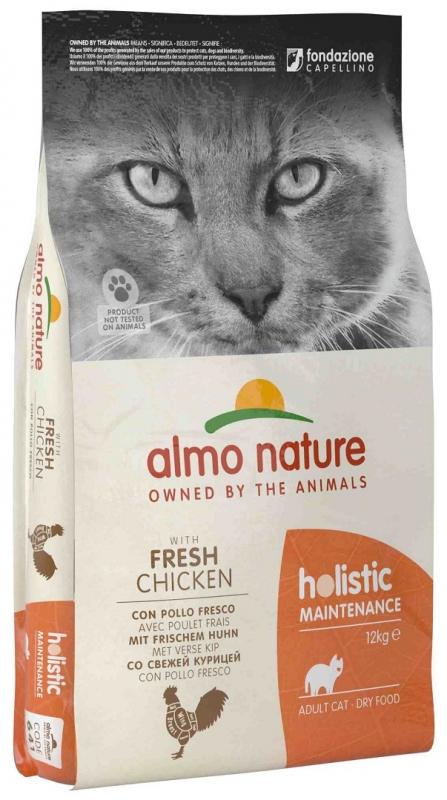 Zdjęcie Almo Nature Holistic Cat Adult  z kurczakiem 12kg