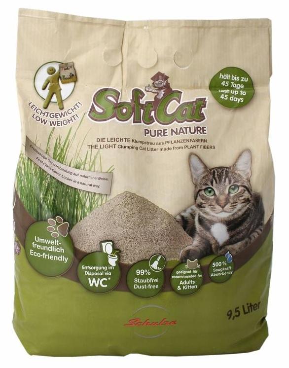 Soft Cat Ekologiczny żwirek zbrylający dla kotów 9.5l