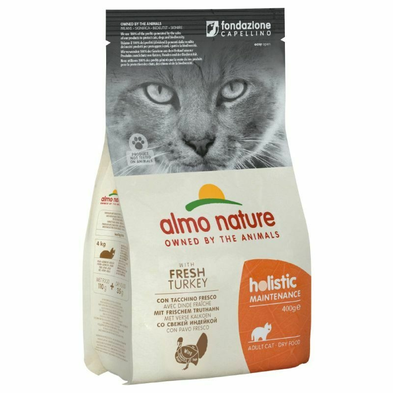 Almo Nature Holistic Cat Adult  z indykiem 400g