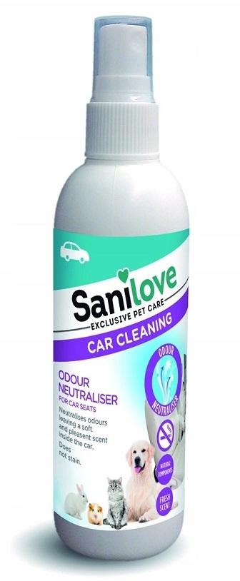 Sanilove Neutralizator nieprzyjemnych zapachów w sprayu samochodowy 125ml