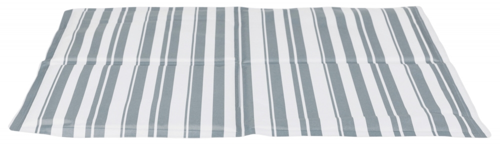 Trixie Mata chłodząca biało-szara bez prądu, bez schładzania, idealne na lato! 65 x 50 cm