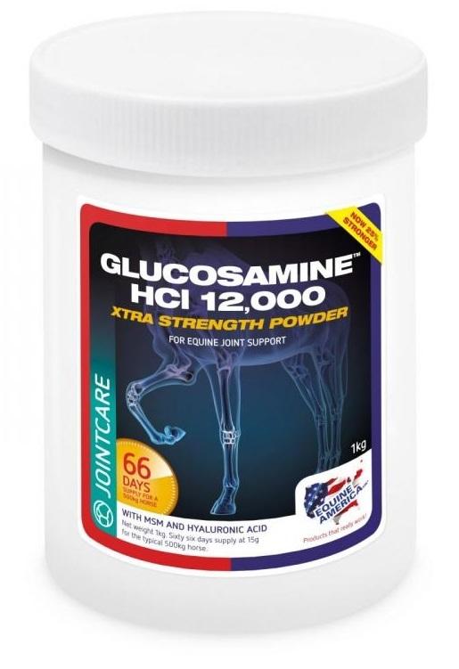 Zdjęcie Equine America Glucosamine 12.000 PLUS MSM + HA   1kg
