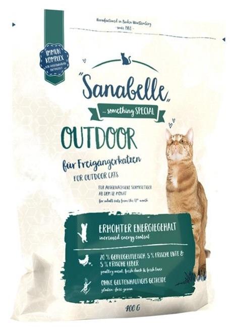 Sanabelle Outdoor z kaczką 400g