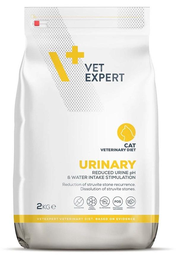 4T Vet Diet Urinary Cat sucha karma  2kg