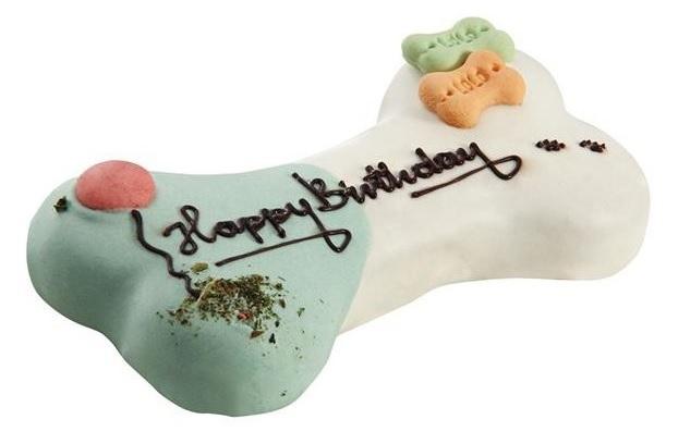 Zdjęcie Lolo Pets Tort urodzinowy dla psa   mięsno - warzywny 250g