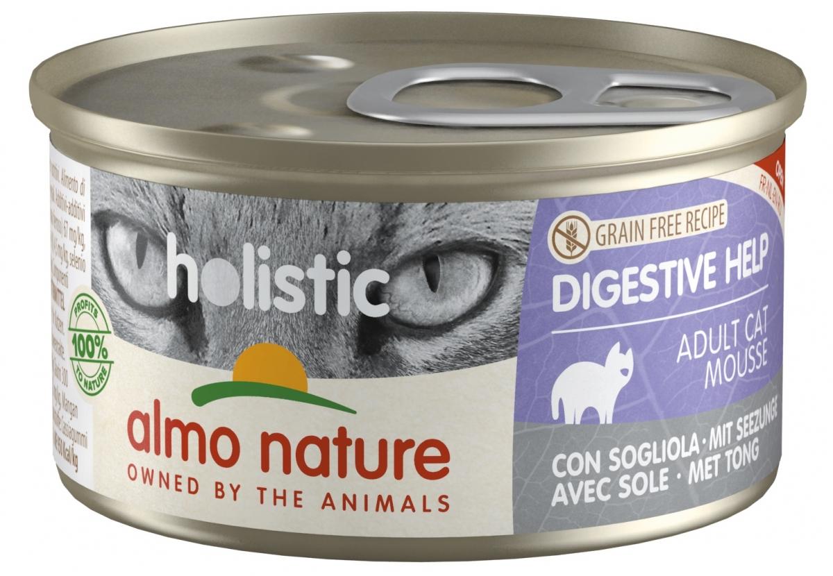 Almo Nature Holistic Digestive Help puszka mus z solą 85g